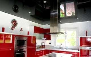 Черный потолок в интерьере квартиры: примеры на фото и видео