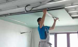 Монтаж гипсокартонного потолка: установка гипсокартона на потолок своими руками, технология укладки ГКЛ, гипрока