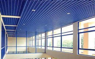 Решетчатые потолки — особенности подвесной конструкции, детальное фото и видео