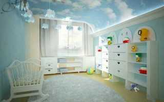 Натяжные потолки в детской: преимущества и варианты оформления