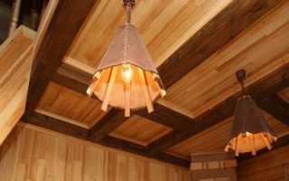 Потолок из деревянной вагонки своими руками: инструкция по монтажу и важные моменты