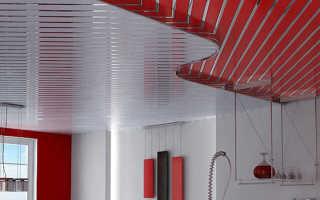 Реечные потолки для кухни: наборные потолки в квартире, алюминиевые, виды, особенности