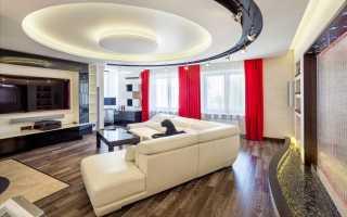Многоуровневые натяжные потолки: монтаж своими руками