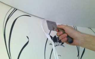 Установка маскировочной ленты на натяжной потолок: советы мастеров отделочных работ