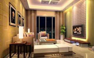 Выбор и установка люстр и точечных светильников для гипсокартонных потолков