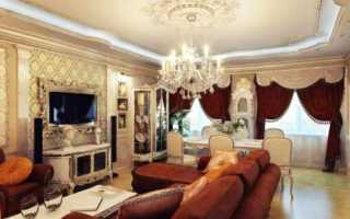 Потолок в классическом стиле: особенности и варианты оформления