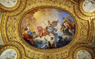 Роспись потолка: уникальный дизайн своими руками