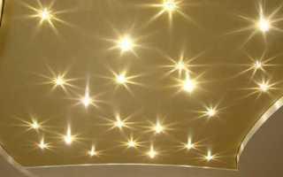 Светильники для натяжного потолка – симфония света в каждом доме