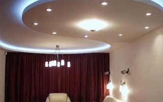 Как сделать подвесной потолок с подсветкой, схема устройства светодиодной ленты