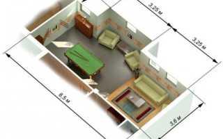 Как рассчитать периметр обычного и двухуровневого потолка сложной формы