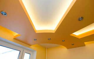 Навесные потолки: как делают, виды, что нужно для устройства конструкции