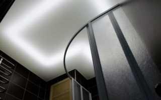 Натяжной потолок со светодиодной подсветкой: варианты эффектного перекрытия