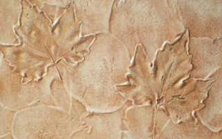 Декоративная штукатурка на потолок: виды смеси и секреты нанесения