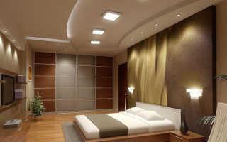 Потолок в спальне: дизайн в современном стиле, красивое оформление, как оформить интерьер спальной комнаты над кроватью