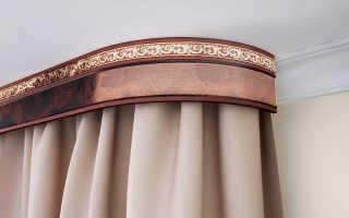 Как крепится бленда к потолочному карнизу: декоративная лента и планка багета