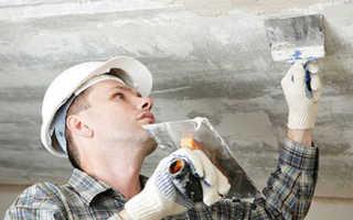 Как правильно выровнять потолок: строительными смесями или гипсокартоном