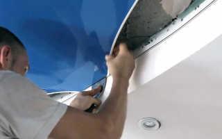 Как снять натяжной потолок своими руками: как самостоятельно вскрыть и поставить обратно, можно ли демонтировать, как правильно и аккуратно отогнуть, как снимается полотно, как убрать угол