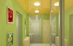 Натяжные потолки в коридоре – порядок проведения работ