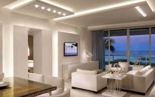 Потолочные софиты: светодиодный софит, лампа для потолка, лампочки для натяжных потолков в интерьере