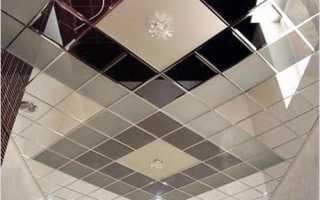 Плитка на потолок в ванной: выбор материала и правила монтажа