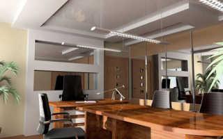 Офисные потолки: оптимальная отделка рабочего помещения
