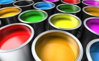 Краска интерьерная для стен и потолков: разновидности и их подробное описание