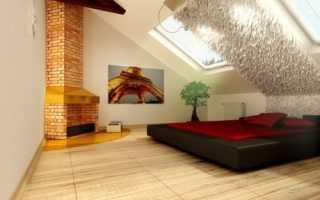 Натяжной потолок на мансарде: идеи современного дизайна