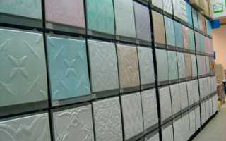 Плитка для потолка: ванна и кухня без затрат