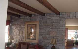 Деревянные балки на потолке: назначение и способы монтажа и декора