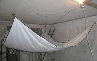 Какое расстояние между потолком и натяжным потолком: минимальное расстояние, сколько сантиметров, высота натяжных потолков от потолка, отступ, зазор