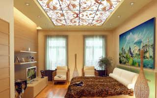 Витражный потолок с подсветкой своими руками + фото примеры