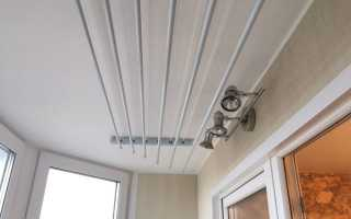 Сушилка для белья потолочная Лиана: инструкция по установке на балконе