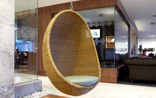 Подвесное кресло к потолку: как подвесить кресло, крепление кресла из ротанга к потолку