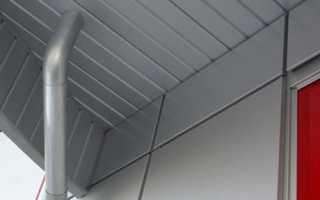 Потолок из сайдинга: чистовая отделка неприхотливым и долговечным материалом