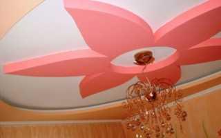 Фигуры из гипсокартона на потолке – эффектный дизайнерский прием