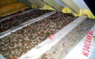 Утепление потолка в гараже различными материалами