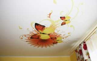 Наклейки для потолка: виниловые, люминесцентные, для детских комнат