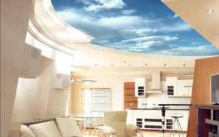 Фотообои на потолок: преимущества бумажных и виниловых изделий, 3D-модели