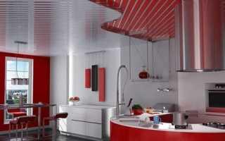 Алюминиевые подвесные потолки: описание готовых комплектов и монтаж своими руками