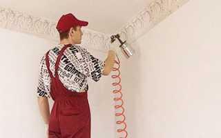 Краскопульт для покраски потолка: достоинства инструмента и советы по применению