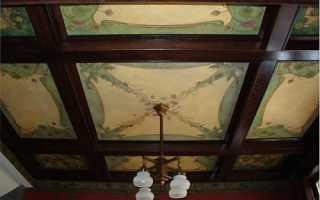 Потолок в стиле арт-деко: изюминка роскошного интерьера