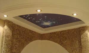 Светящийся потолок: методы создания эффектного и необычного элемента интерьера