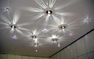 Монтаж светильников в натяжные потолки: установка точечных светильников, как установить, как крепятся, как сделать крепление, как вставить