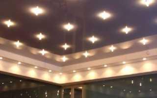 Точечное освещение потолков – подробная инструкция по установке