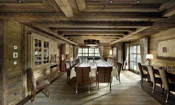 деревянные потолки в интерьере