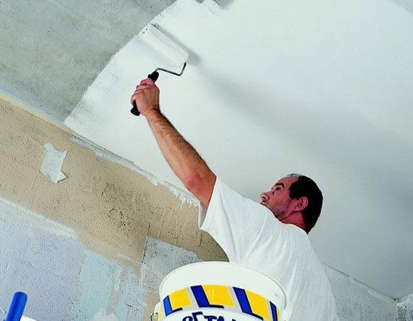 материалы для побелки потолка