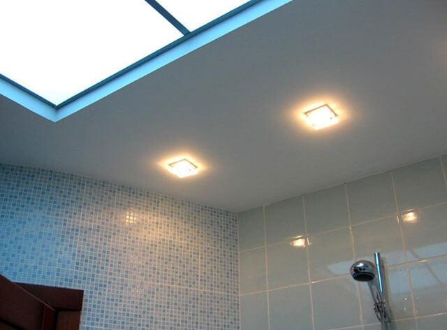 квадратные лампы на потолок
