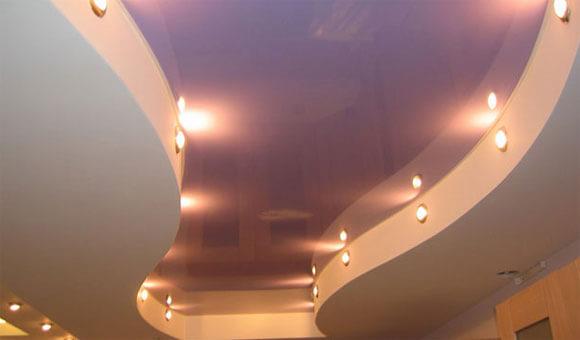 как делают навесные потолки