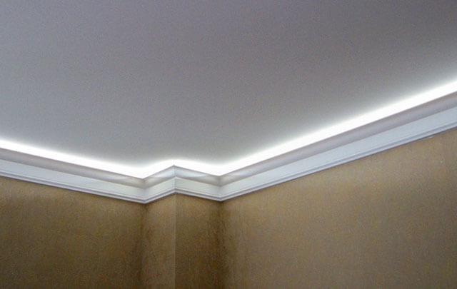 натяжные потолки с подсветкой изнутри
