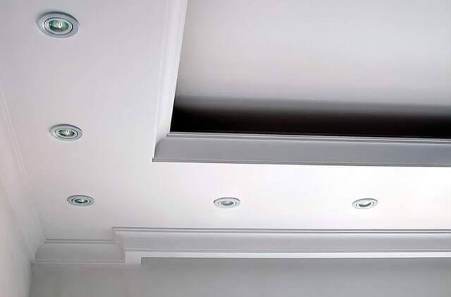 высота короба на потолке